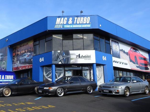 Mag &Turbo Mt Wellington