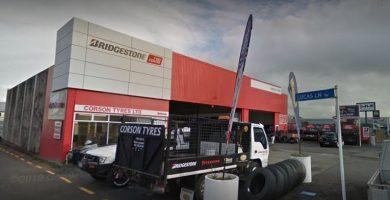 Corsons Tyres - New Plymouth - Taranaki