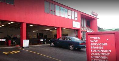 Bridgestone Tyre Shop in Wellington