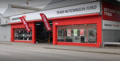 Bridgestone Team Hutchinson Ford