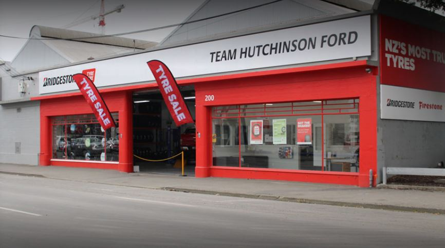 Bridgestone Team Hutchinson Ford