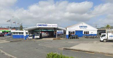 Carters Tyres Whangarei