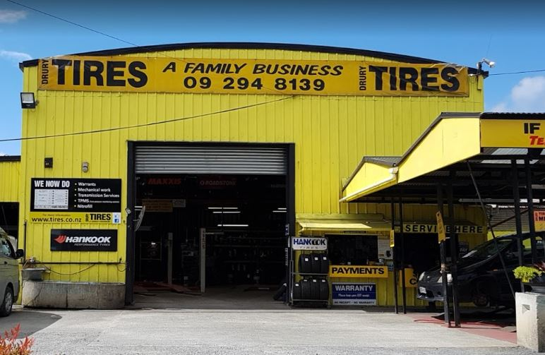 Drury Tyres