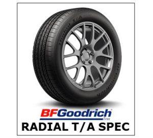BF Goodrich Radial T/A Spec
