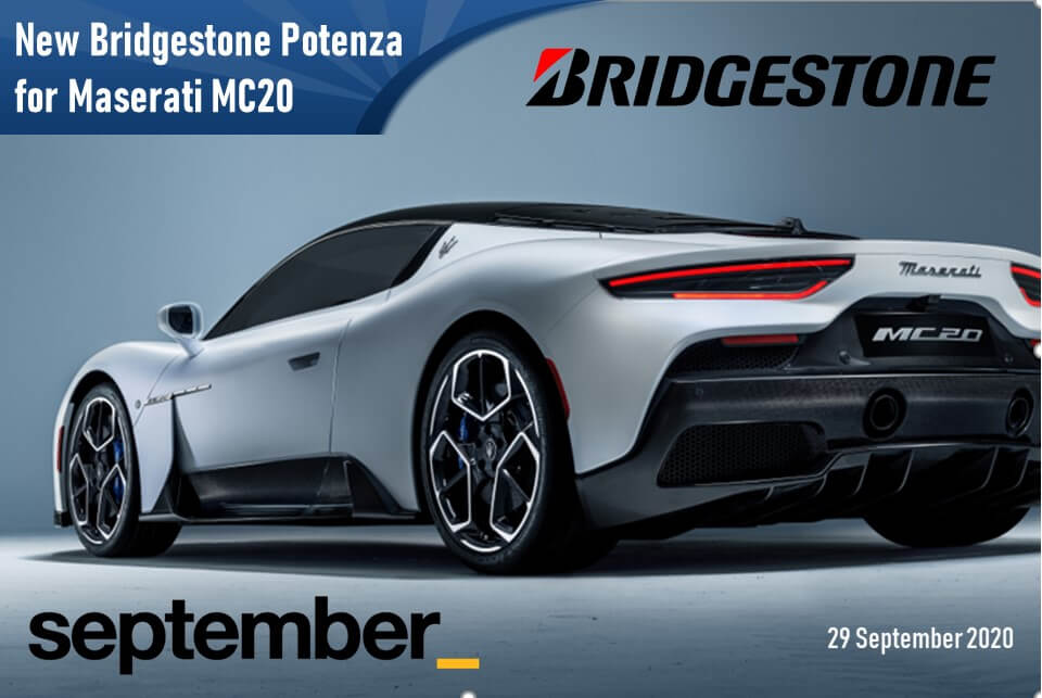 Bridgestone Potenza for Maserati MC20