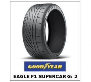 Goodyear Eagle F1 Supercar G: 2