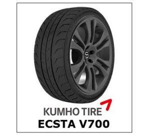 Kumho Ecsta V700