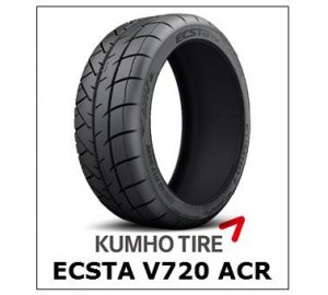 Kumho Ecsta V720 ACR