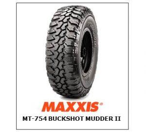 Maxxis MT-754 Buckshot Mudder II
