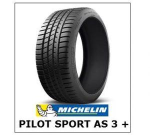 Michelin Pilot Sport A/S 3+ Tyres NZ