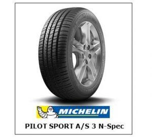 Michelin Pilot Sport A/S 3 N-Spec Tyres NZ