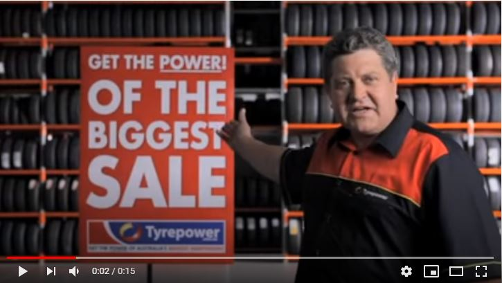 Tyrepower Inside Store