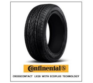 Continental CrossContact LX20 with EcoPlus Technology