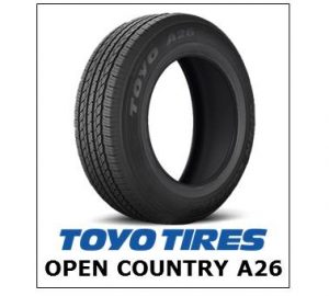 Toyo Open Country A26
