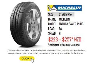215/65 R16 MICHELIN ENERGY SAVER PLUS
