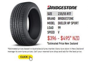 235/55 R17 BRIDGESTONE DUELER HP SPORT