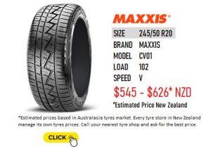 245/50 R20 MAXXIS CV01