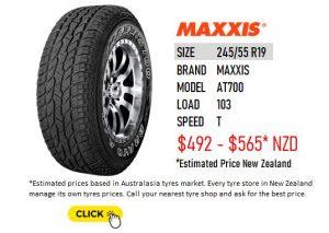 245/55 R19 MAXXIS AT700