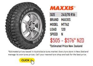 245/70 R16 MAXXIS MT 762