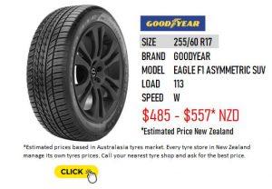 255/60 R17 GOODYEAR EAGLE F1 ASYMMETRIC SUV