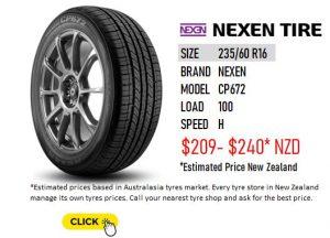 NEXEN CP672 - 235/60 R16