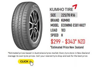 225/70 R16 ECOWING ES01 KH16 KUMHO