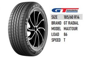 185/60 R14 GT RADIAL MAXTOUR