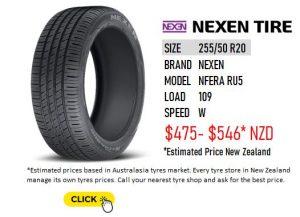 NEXEN NFERA RU5 - 255/50 R20